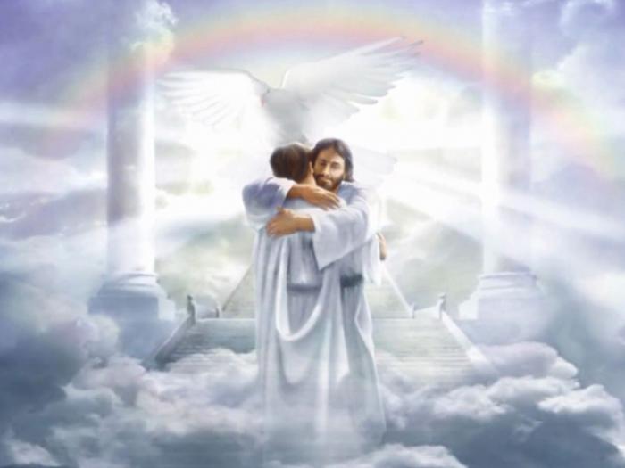 общество сегодня во сне видела образ богородици на небесах сначала